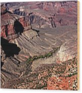 Indian Gardens In The Grand Canyon Wood Print