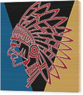 Indian Head Series 01 Wood Print