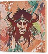 Indian Head Series 02 Wood Print