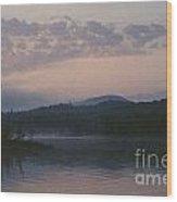 Indian Lake Wood Print