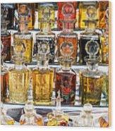 Indian Perfume Bottles Wood Print