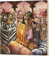 Indian Princess Wood Print