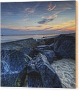 Indian River Inlet Wood Print