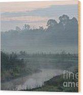 Indian River Sunrise Wood Print