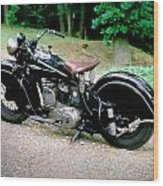 Indian Sport Scout 1941 Wood Print
