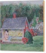 Indian Valley Farm Wood Print