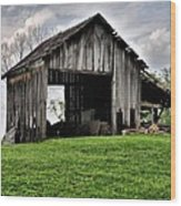 Indiana Barn Wood Print