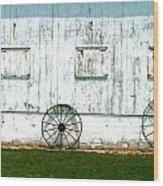 Indiana Barnside Wood Print