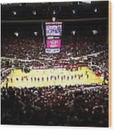 Indiana Hoosiers Assembly Hall Wood Print