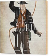 Indiana Jones Vol 2 - Harrison Ford Wood Print