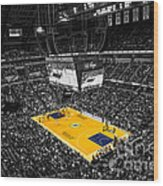 Indiana Pacers Special Wood Print by David Haskett