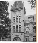 Indiana University Kirkwood Hall Wood Print