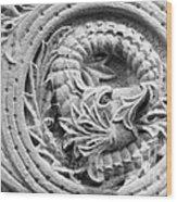 Indiana University Limestone Detail Wood Print