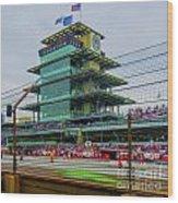Indianapolis 500 May 2013 Square Wood Print