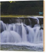 Indianhead Dam - Montgomery County Pa. Wood Print