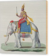 Indra Or Devendra, From Linde Wood Print