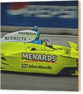 Indy Car 20 Wood Print