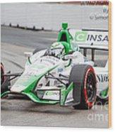 Indy Car  Wood Print