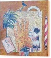Inept Love Letter Wood Print
