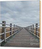 Infinite Boardwalk Wood Print
