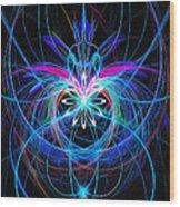 Infinite Heart Wood Print
