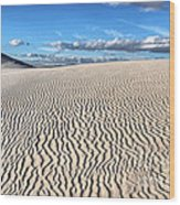Infinite Sand Patterns Wood Print