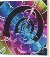 Infinite Time Rainbow 1 Wood Print