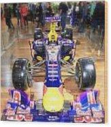 Infiniti Red Bull Formula One Racing Car  Wood Print