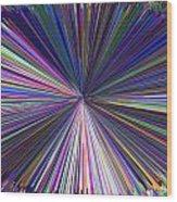 Infinity Abstract Wood Print