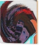 Infinity Mask 5 Wood Print