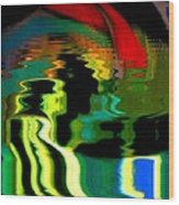 Infinity Rainbow River 1 Wood Print
