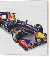 Infinity Red Bull Rb9 Formula 1 Race Car Wood Print