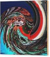 Infinity Water Sprite 1 Wood Print