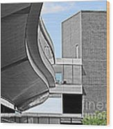 Information Technology Building Wood Print