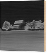 Infrared Abstract Minimalism Wood Print