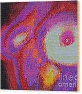 Infrared Wood Print