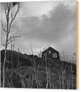 Infrared Barn Wood Print