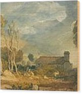 Ingleborough From Chapel-le-dale Wood Print
