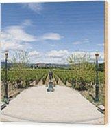 Inglenook Vineyards Wood Print