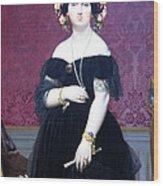 Ingres' Madame Moitessier Wood Print