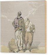 Inhabitants Of Mooltan (aka  Multan) - Wood Print