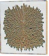 Inhale Exhale Wood Print
