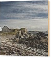 Inishbofin Island Off The West Coast Of Ireland Wood Print