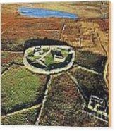 Inishmurray Island County Sligo Ireland Early Celtic Christian Ring Fort Cashel Monastic Settlement  Wood Print