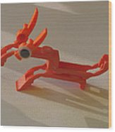ink cartridge Reindeer Wood Print by Alfred Ng