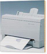 Inkjet Printer Wood Print