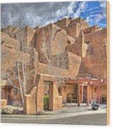 Inn At Loretto Santa Fe Nm Wood Print