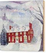 Inn At Spruce Creek Wood Print