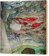 Inner Earth Wood Print