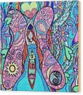 Inner Goddess Wood Print